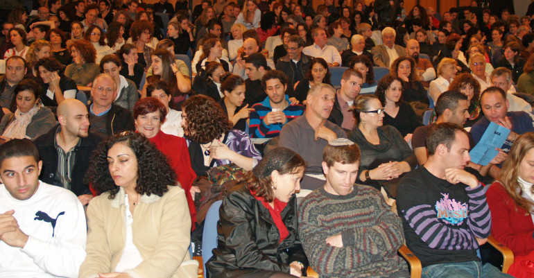 Batsheva_theater_crowd_in_Tel_Aviv_by_David_Shankbone